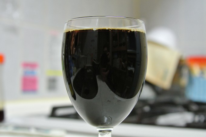 ひぐま濃い麦酒